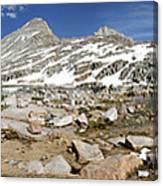 Black Bear Lake Camp - Sierra Canvas Print