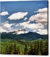 Black Comb Glacier In Hdr Canvas Print