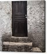 Black Door Canvas Print