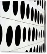 Black Dots Canvas Print