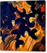 Black Fire Canvas Print