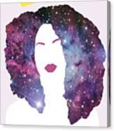 Black Girl Magic Sparkle Canvas Print