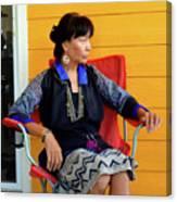 Black Hmong Sapa 1 Canvas Print