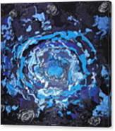Black-hole Blues Canvas Print