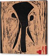 Black Ivory Issue 1 Woodcut Canvas Print