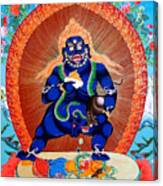 Black Jambhala  4 Canvas Print