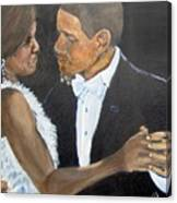 Black Love Is Black Power Canvas Print