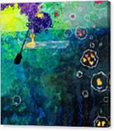 Black Oar Canvas Print