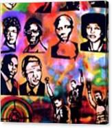Black Revolution Canvas Print
