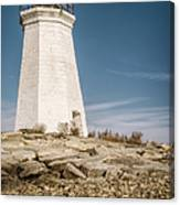 Black Rock Harbor Lighthouse II Canvas Print