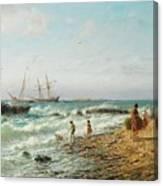 Black Sea Coast Canvas Print
