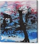 Black Tree Canvas Print