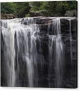 Black Water Falls Wv Canvas Print