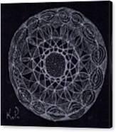 Black Zen 2 Canvas Print