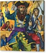 Blackbeard Canvas Print