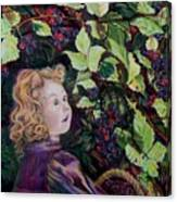 Blackberry Elf Canvas Print
