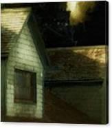 Blackbird Singing In The Dead Of Night Canvas Print