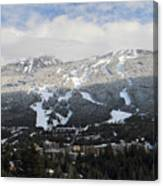 Blackcomb Mountain Canvas Print