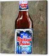 Blackened Voodoo Beer Canvas Print