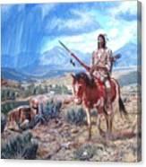 Blackfoot Warrior Canvas Print