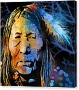 Blackfoot Woman Canvas Print
