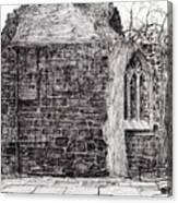 Blackfriars Chapel St Andrews Canvas Print