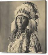 Blackheart Ogalalla Sioux Canvas Print