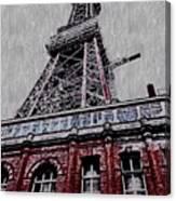 Blackpool Tower Canvas Print