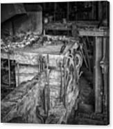 Blacksmith Bench Canvas Print