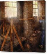 Blacksmith - It's Getting Hot In Here Canvas Print