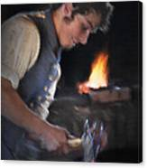 Blacksmith - Pioneer Village Canvas Print