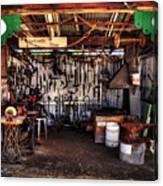 Blacksmith Shop By Kaye Menner Canvas Print
