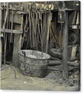 Blacksmith's Bucket Canvas Print
