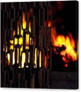 Blacksmiths Furnace Canvas Print