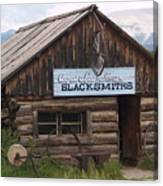 Blacksmiths Canvas Print