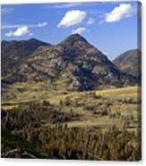 Blacktail Road Landscape 2 Canvas Print