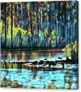 Blackwater Refuge Canvas Print