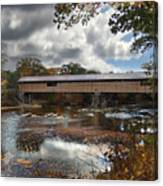Blair Covered Bridge Canvas Print