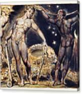 Blake: Jerusalem, 1804 Canvas Print