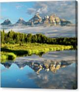 Blame It On The Tetons Canvas Print