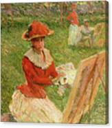 Blanche Hoschede Painting Canvas Print