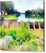 Blanco River Canvas Print