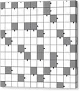 blank crossword puzzle