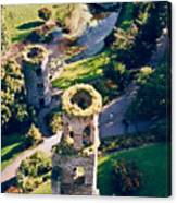 Blarney Castle Ruins In Ireland Canvas Print