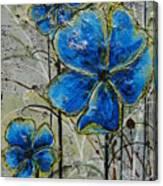 Blau Canvas Print