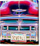 Blazing Chevy Canvas Print