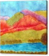 Blazing Hot Canvas Print