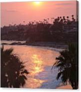 Blazing Laguna Canvas Print