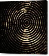 Bleached Circles Canvas Print