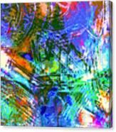 Bleached Vibrance Canvas Print